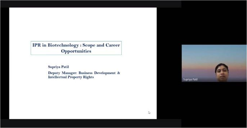 Intellectual Property Rights (IPR) in Biotechnology: Scope and Career Opportunities
